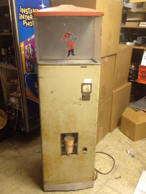 popcorn dispenser machine