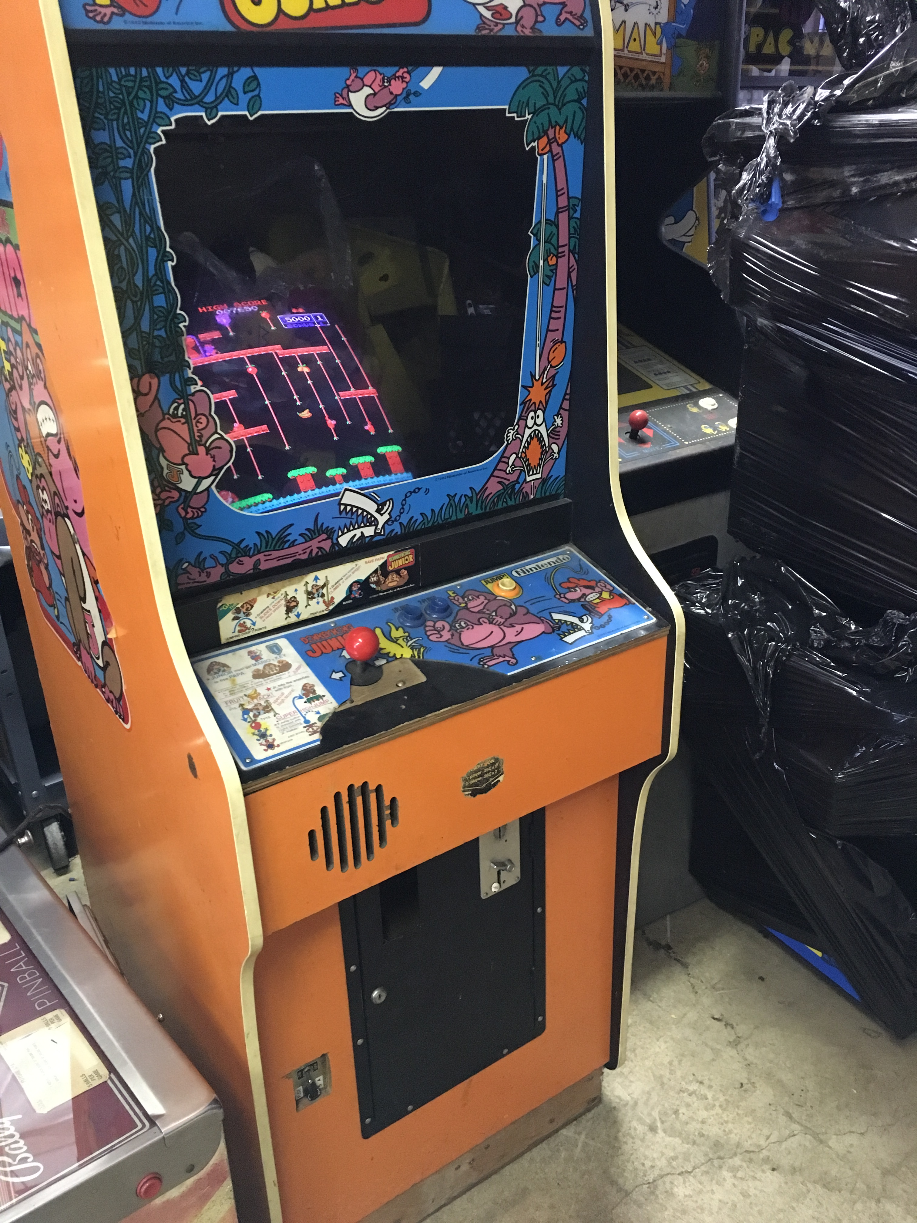 Used Mobility Scooters For Sale >> DONKEY KONG JR ARCADE GAME WORKING
