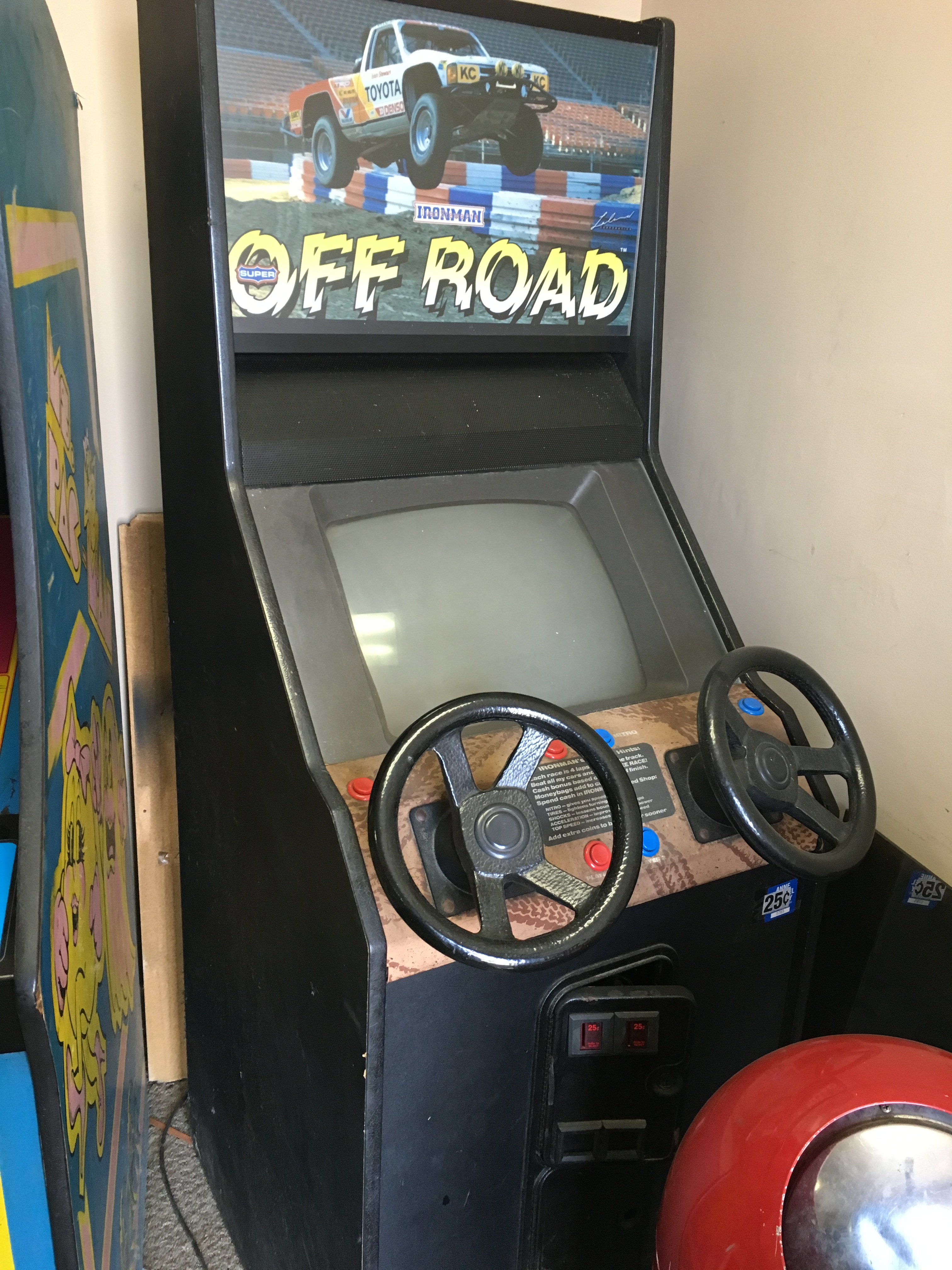 off road arcade game